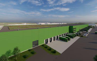 Green Cube – die neue Art der Logistik Immobilie